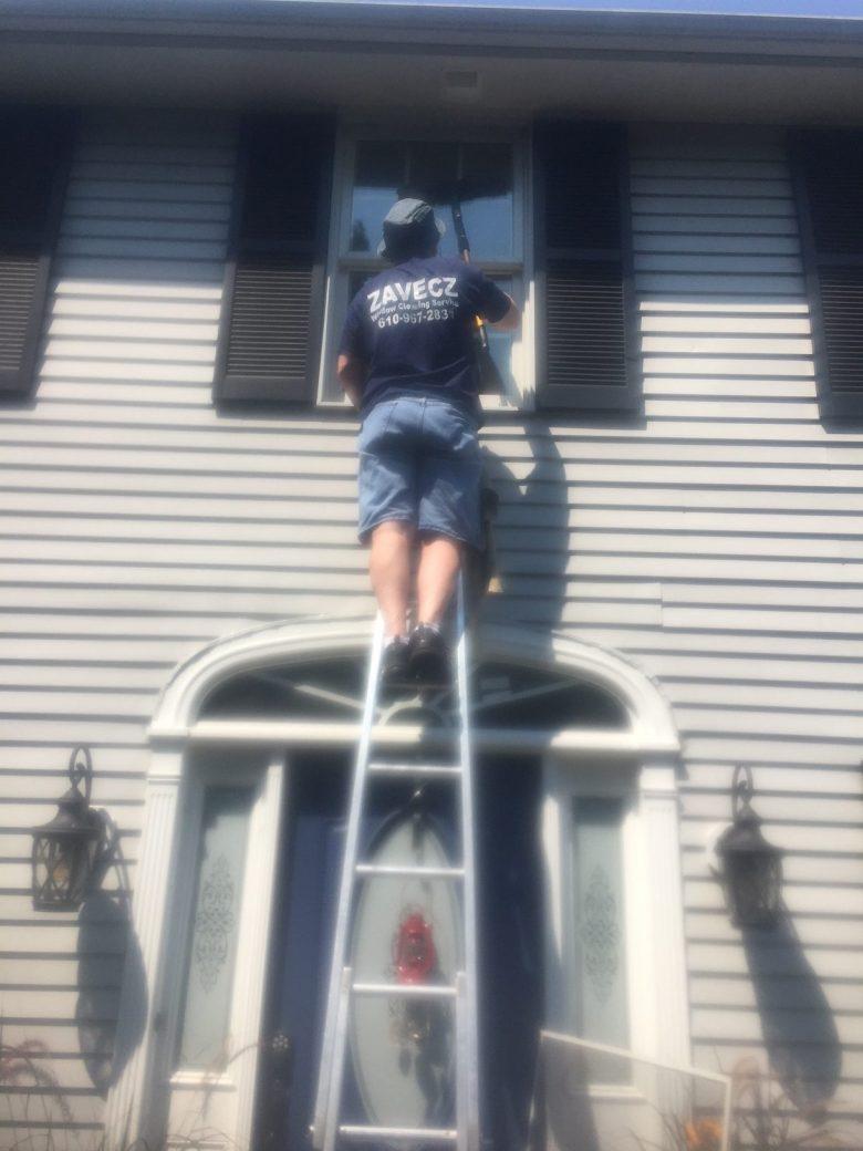 Residential Window Washing, Emmaus
