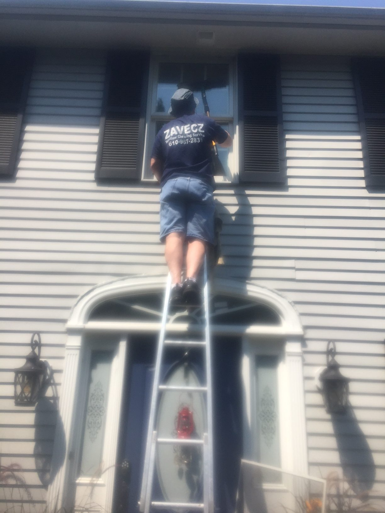 Residential Window Washing, Emmaus